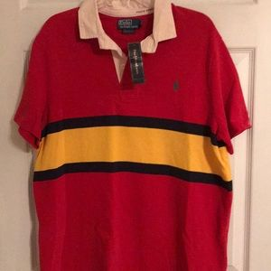 Men's Polo Ralph Lauren custom fit shirt..L..NWT